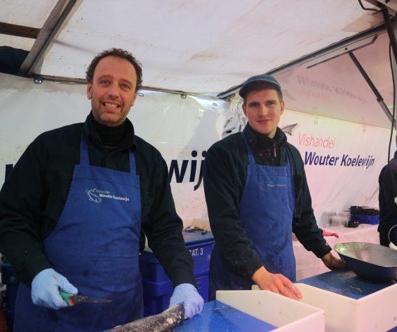 Vishandel Wouter Koelewijn
