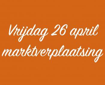 Minimarkt vrijdag 26 april