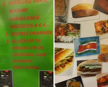 Haal je broodjes of maaltijden bij Suri Shunshine!