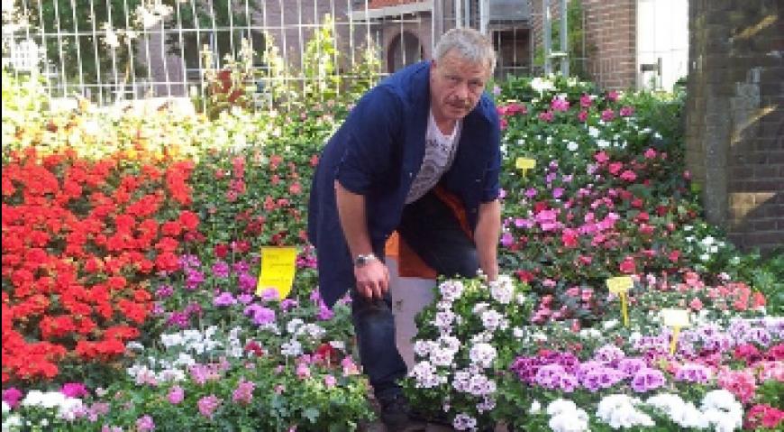 Ondernemer van de maand: Theo van de Linde (Theo Tuinplanten)