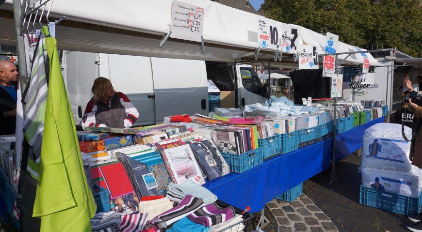 Stichting Arnhemse markten helpt NON-Food marktkooplieden
