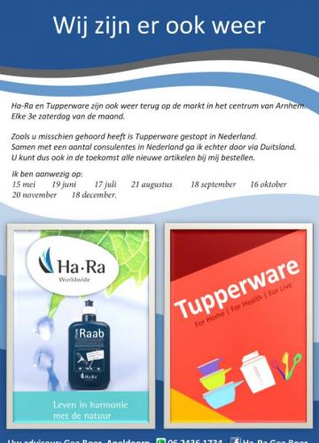 Ha-Ra en Tupperware Arnhem