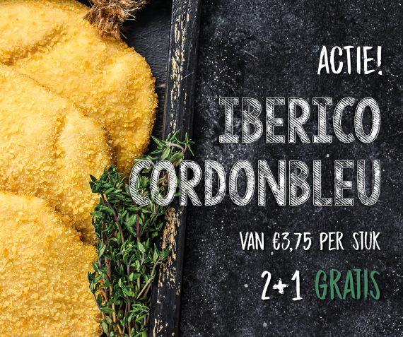 ACTIE! Iberico cordon bleu's