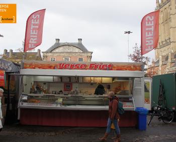 Heerlijke verse friet en snacks op de Arnhemse Markten